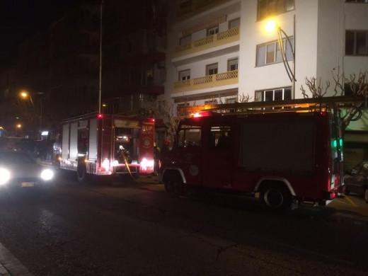 (Galería de fotos) Arde un tercer piso en la calle Vives Llull de Maó