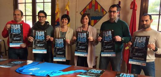 Autoridades y organizadores, en la presentación en Ciutadella (Foto: Biosport)