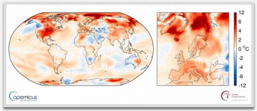 Mapas de temperatura