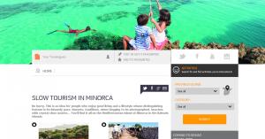 Extracto del reportaje publicado en la web de Turismo España en EEUU.