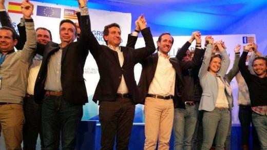 Biel Company, tras lograr la victoria (Foto: mallorcadiario.com)