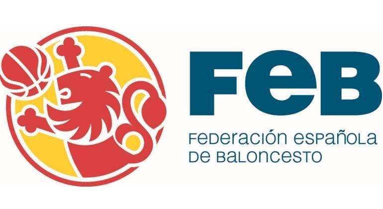 Logo de la Federación Española de Baloncesto.