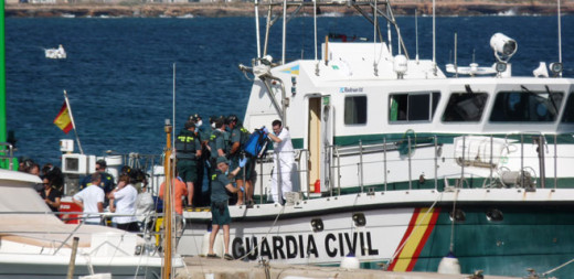 Embarcación de la Guardia Civil.