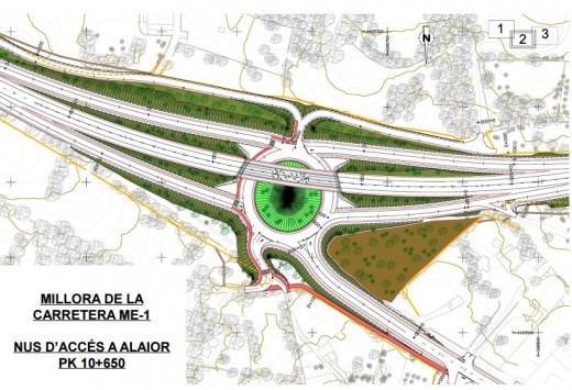 Imagen del nuevo proyecto respaldado por el Consell.