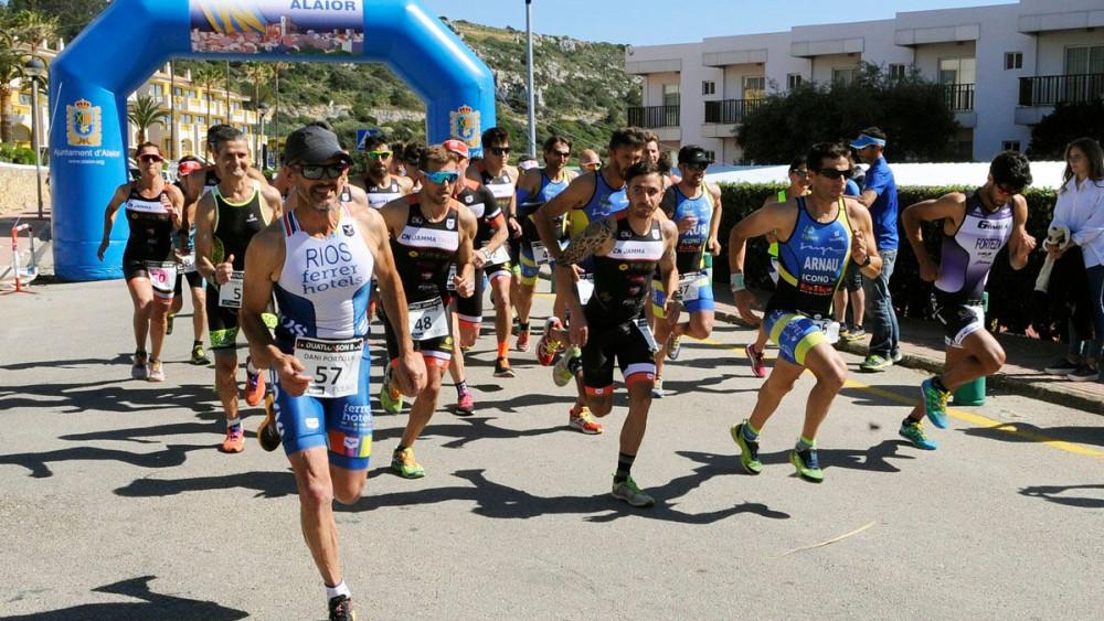 Salida de la carrera (Fotos: Tolo Mercadal)