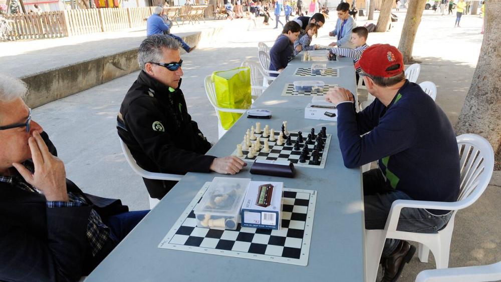 Partidas de ajedrez.