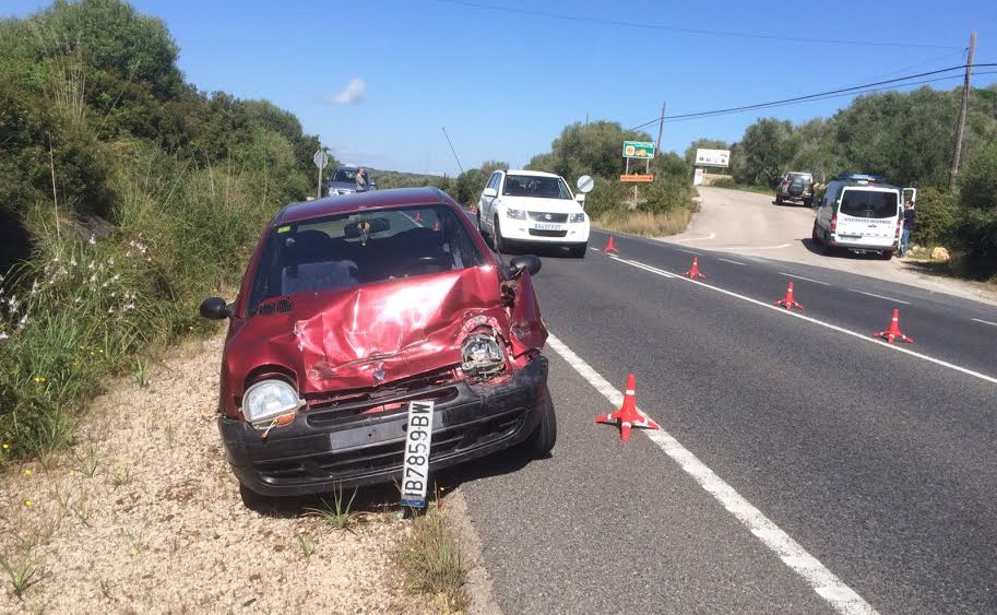 El accidente se ha producido a las 11.00 horas.