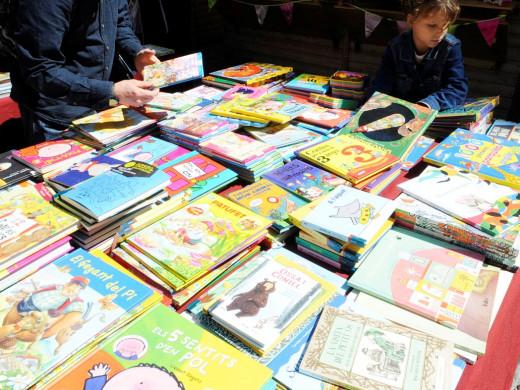 (Fotos) Días de libros y rosas