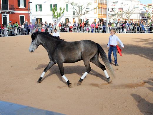Los caballos toman el protagonismo en la Feria de Abril