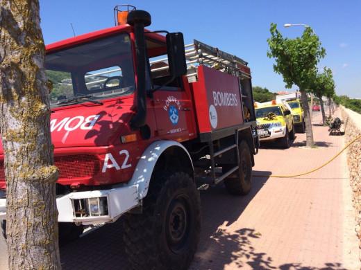 (Fotos) Dos conatos de incendio hacen saltar las alarmas de los bomberos