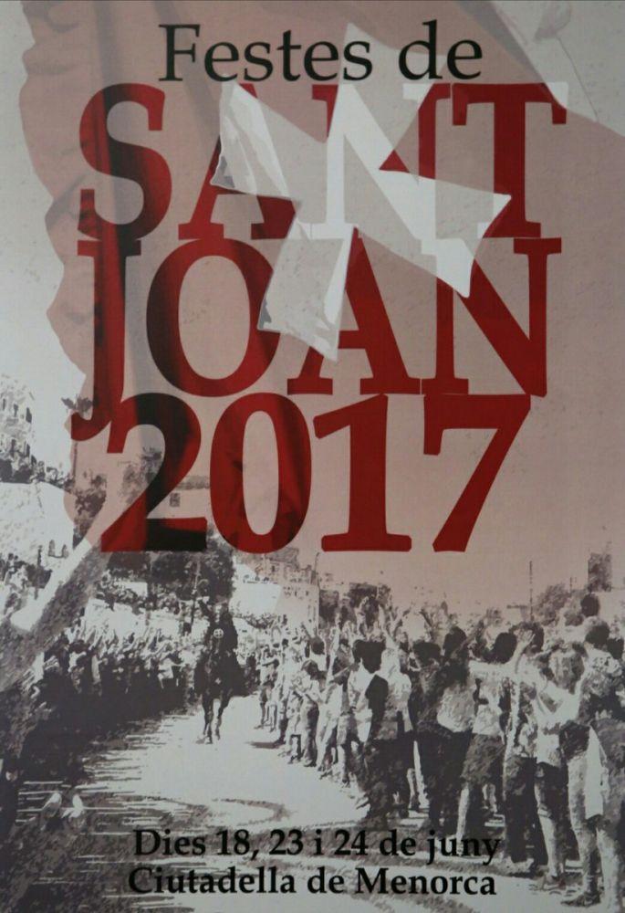 Cartel de Sant Joan 2017.