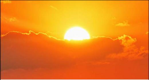 El sol ha golpeado con fuerza en la Isla.