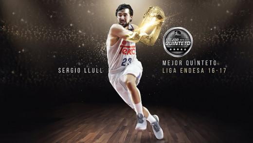 Infografía de la ACB sobre Sergio Llull.
