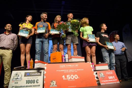 Podium general de ganadores (Fotos: Marta Bacardit)