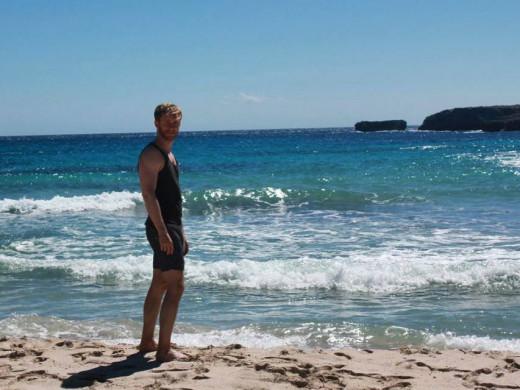 (Galería de fotos) El actor Pablo Rivero se enamora de Menorca
