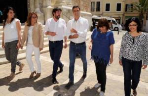 Los socialistas de Menorca y Balears apoyaron a Sánchez de forma clara.