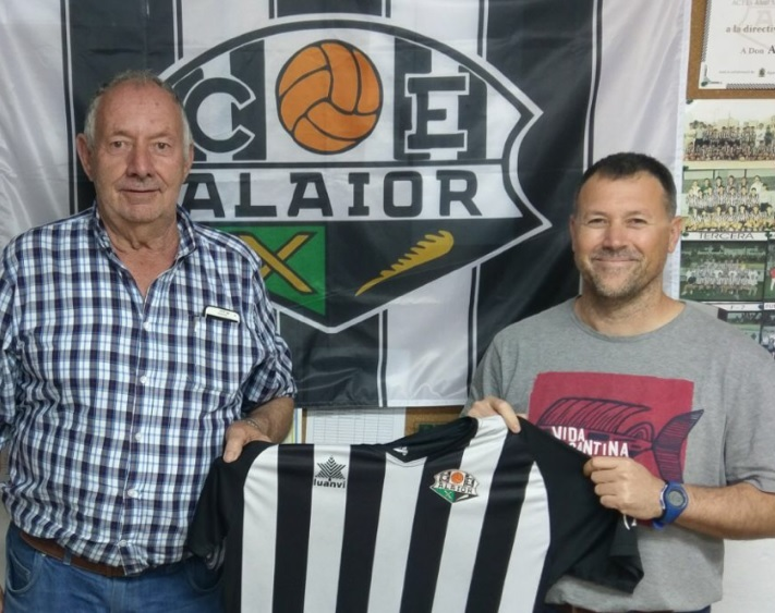 Pedro Palliser junto a Toni Alzina.