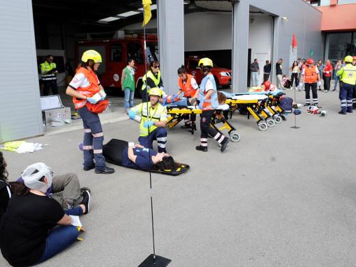 (Galería de fotos) Aprendiendo a decidir el orden de evacuación