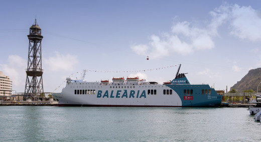 Imagen del nuevo ferry.