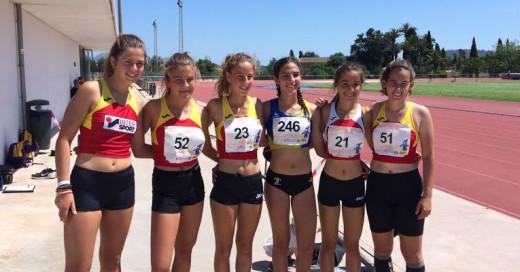 Foto de las cadetes femeninas