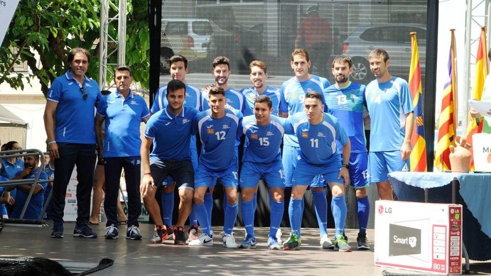 Imagen del equipo de fútbol (Fotos: Tolo Mercadal)