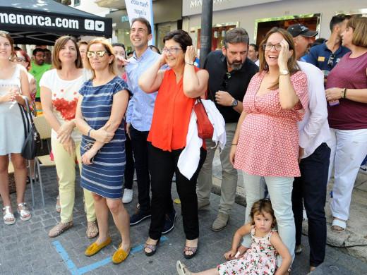 (Fotos) Menorca inicia con una gran fiesta la cuenta atrás para los Island Games de Gotland