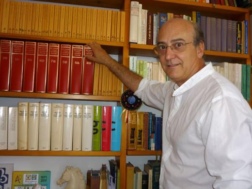 Imagen del profesor Xavier Martín.