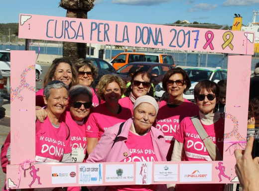 Alba Menorca, en la Cursa de la Dona.