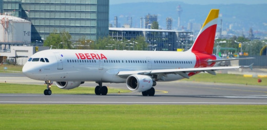 Avión de la compañía Iberia