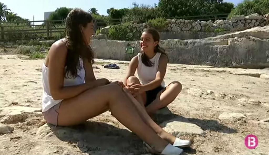 Sintes y Gomila, en el reportaje de IB3 Televisió.