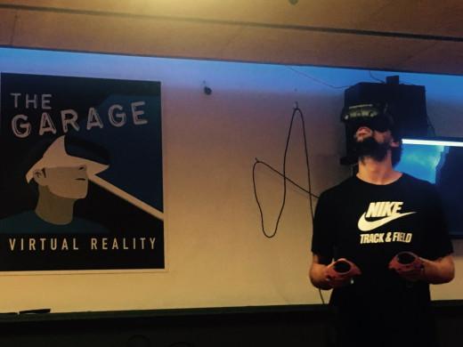 En un mundo virtual.