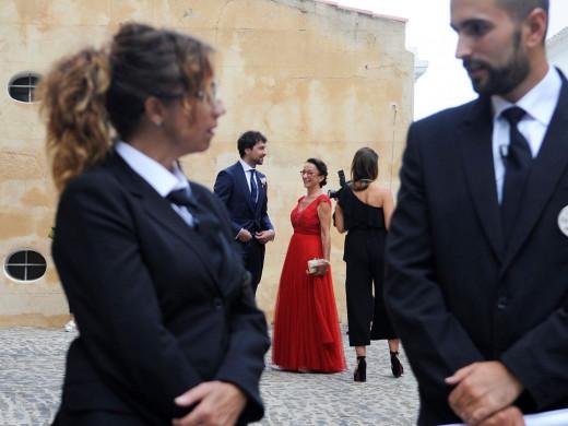 El álbum de fotos de la boda
