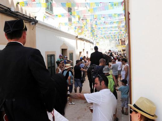 (Fotos) Sant Cristòfol inunda Es Migjorn de alegría
