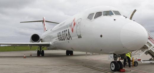 Avión de Volotea.