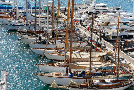 Embarcaciones en los pantalones (Foto: Nico Martínez)