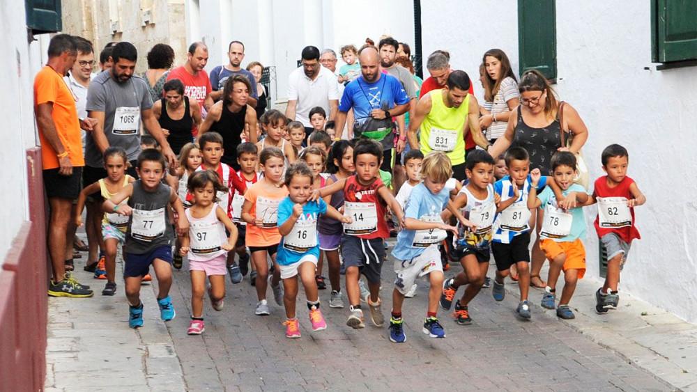 Gran participación en las categorías menores (Fotos: Tolo Mercadal)