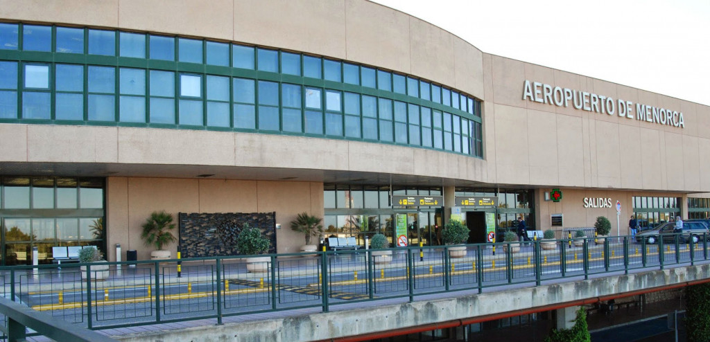 Imagen del Aeropuerto de Menorca