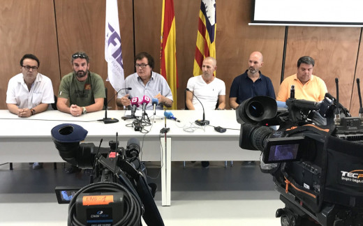 Momento de la presentación del evento en la Federacón.