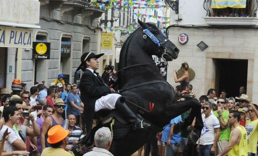 Jaleo en las fiestas de Sant Llorenç.