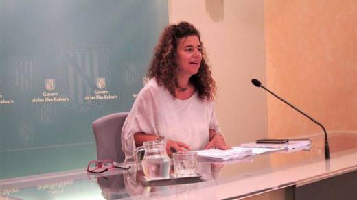 Pilar Costa, en rueda de prensa.