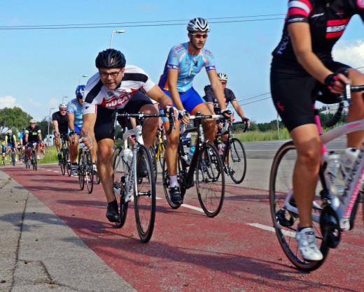(Fotos) A pedalear