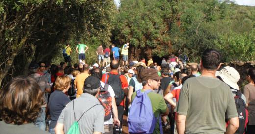 Protestas por Binimoti.