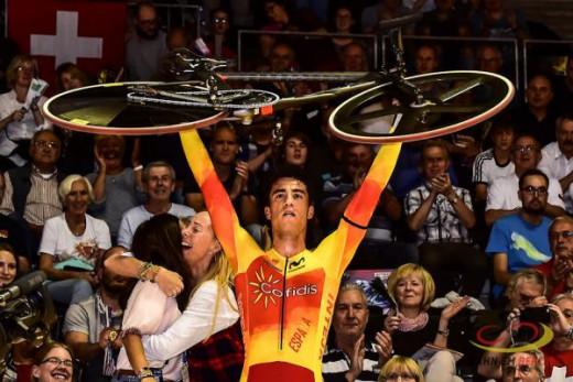 (Vídeo) Albert Torres, campeón de Europa de omnium