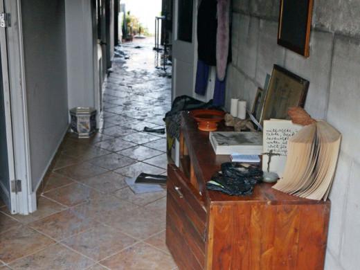 (Galería de fotos) Las imágenes del incendio en una vivienda de Maó
