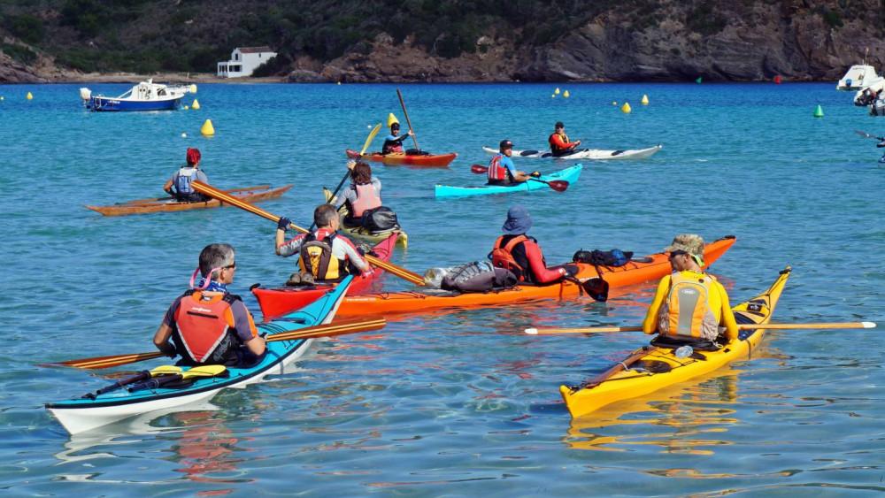 Vuelta a Menorca en kajak.
