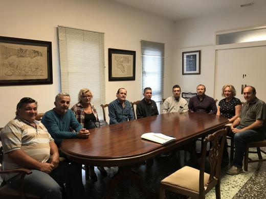Imagen de los nuevos empleados en el Ajuntament.