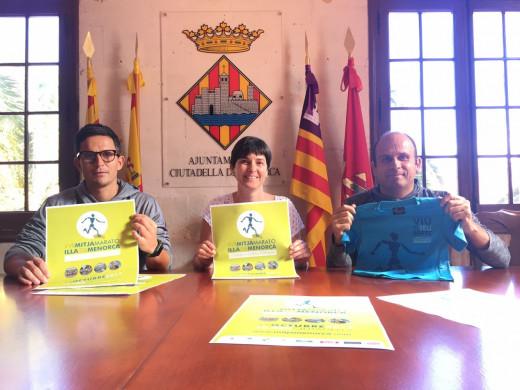 Momento de la presentación en el Ajuntament de Ciutadella.