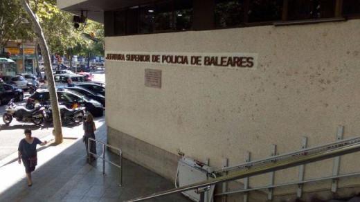 Jefatura Superior de Policía de Baleares.
