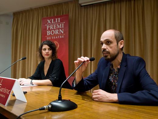 """(Fotos) Francisco Javier Suárez gana el Premi Born con la obra """"Arde ya la yedra"""""""