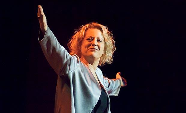 Rossell, durante una actuación.